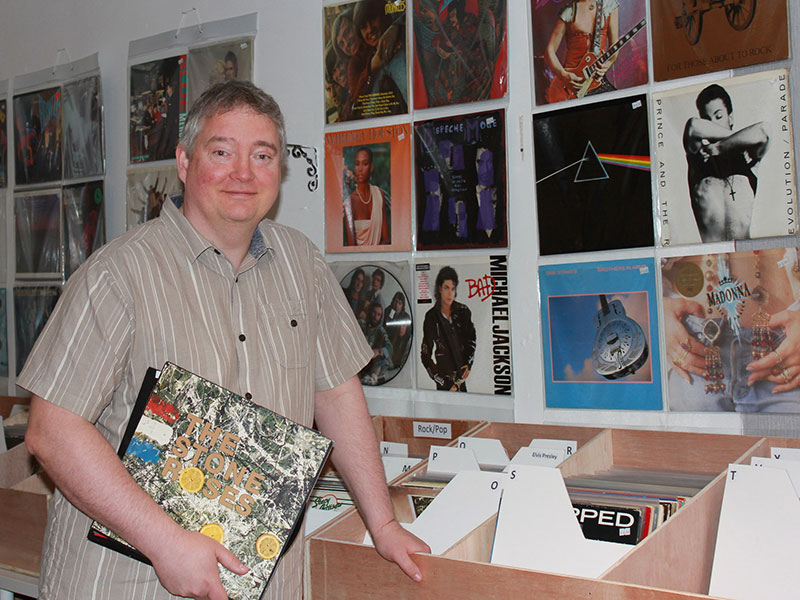 Bowdon Business Club Gary S Passion For Vinyl