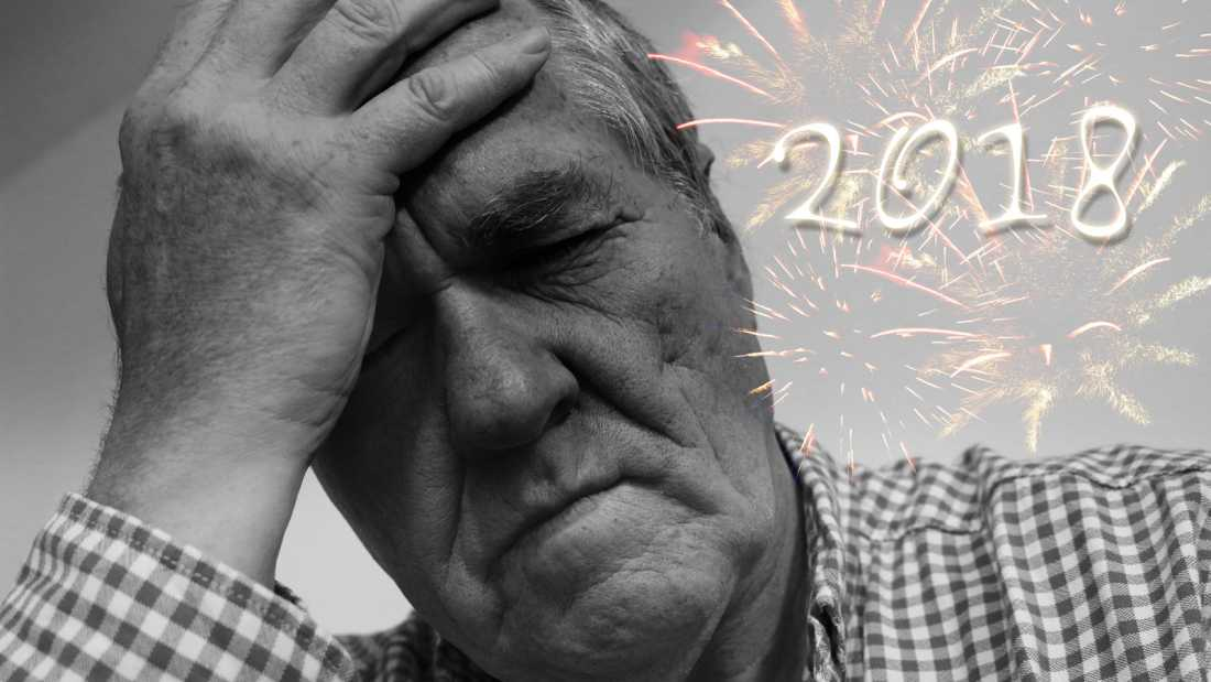 Not such a happy New Year!