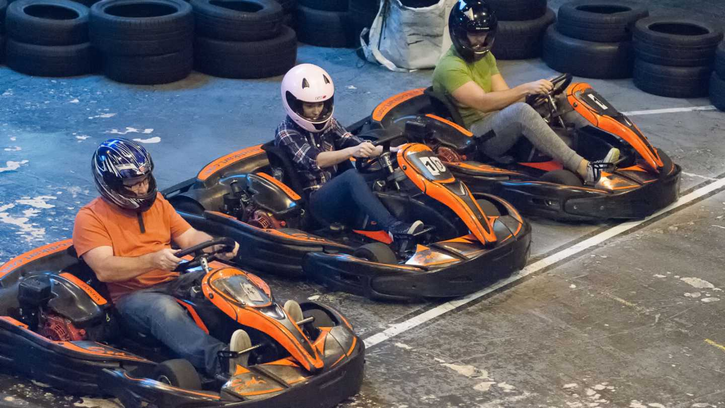 Bowdon Business Club Karting