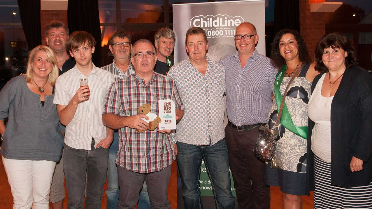Raising money for Childline
